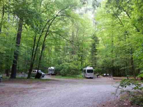Cataloochee Campground in Great Smoky Mountains National Park near Waynesville North Carolina5