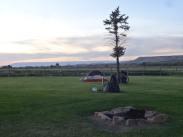 Centennial tent site