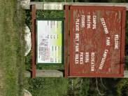 Deerwood welcome sign