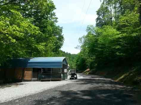 Eljawa Campground and Log Cabins in Whittier North Carolina2