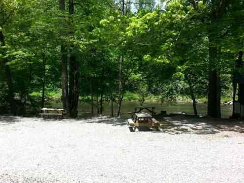 Eljawa Campground and Log Cabins in Whittier North Carolina3