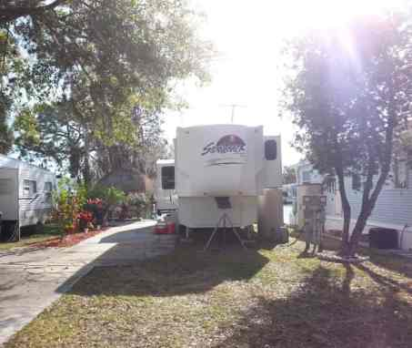Encore Winter Quarters Pasco RV Resort in Lutz Florida2