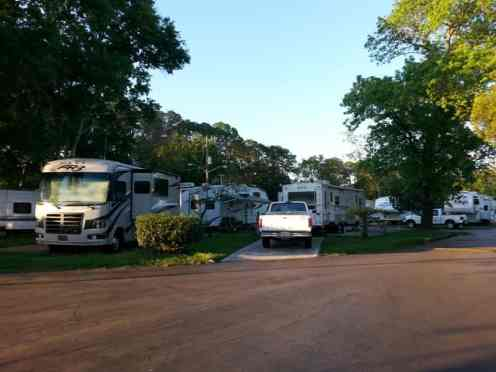 Fleetwood RV Park in Jacksonville Florida 102