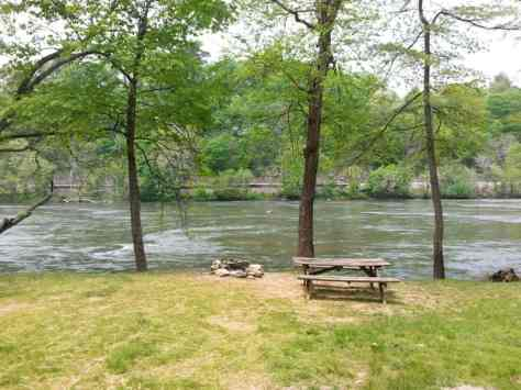 French Broad River Campground in Asheville North Carolina7