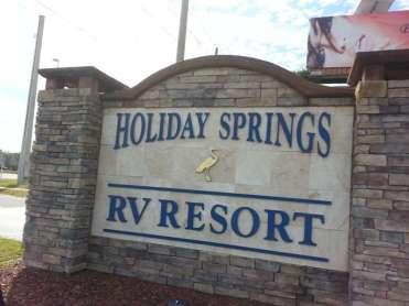Holiday Springs RV Resort in Spring Hill Florida1