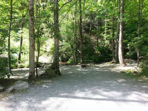 Indian Creek Campground in Cherokee North Carolina2