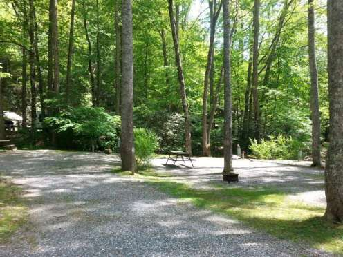 Indian Creek Campground in Cherokee North Carolina3