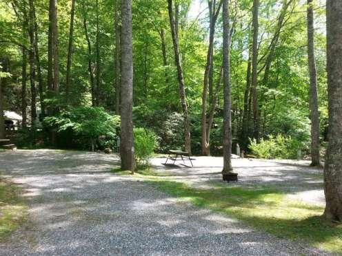 Indian Creek Campground in Cherokee North Carolina3