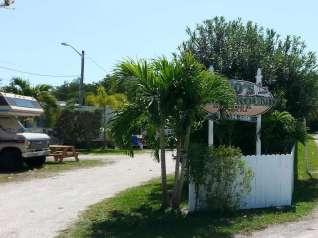 Leo's Campground near Key West Florida