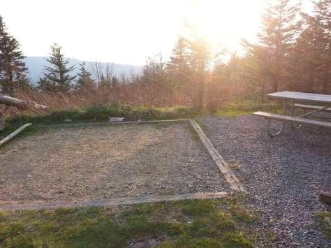 Mount Mitchell State Park Campground in Burnsville North Carolina002