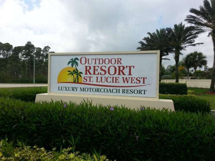 Outdoor Resorts St. Lucie West Motorcoach Resort in Port Saint Lucie Florida