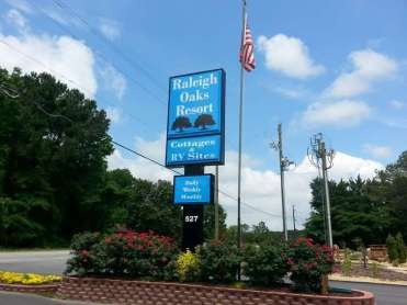 Raleigh Oaks RV Resort in Four Oaks North Carolina01