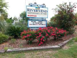 Rivers End Campground & RV Park in Tybee Island Georgia12