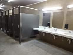 WH Lyon restroom inside