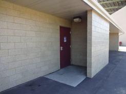 WH Lyon restroom outside