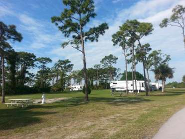 Wickham Park Campground in Melbourne Florida8