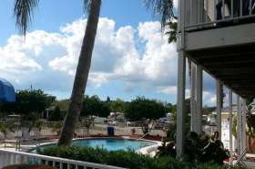 Winter Quarters Manatee RV Resort in Bradenton Florida Pool