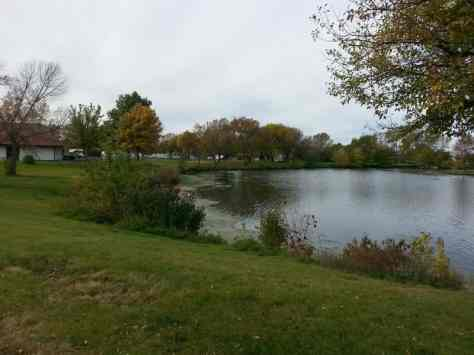 Adventureland Campground in Altoona Iowa lake