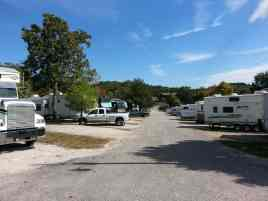 America's Best Campground in Branson Missouri Roadway