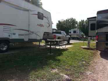 America's Best Campground in Branson Missouri Spacing