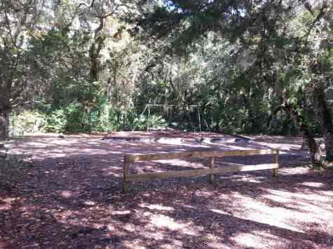Anastasia State Park in St. Augustine Florida Playground