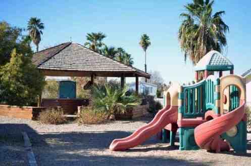 Arizona Oasis RV Resort in Ehrenberg Arizona Playground