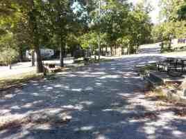 Aunts Creek RV Park in Branson West Missouri pull thru