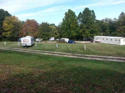 Bar B RV Park in Forsyth Missouri View