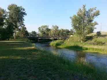 Bernie & Sharon's Riverfront RV Park in Garrison Montana Deer Lodge Little Blackfoot River