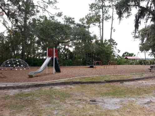 Blythe Island Regional Park in Brunswick Georgia Playground