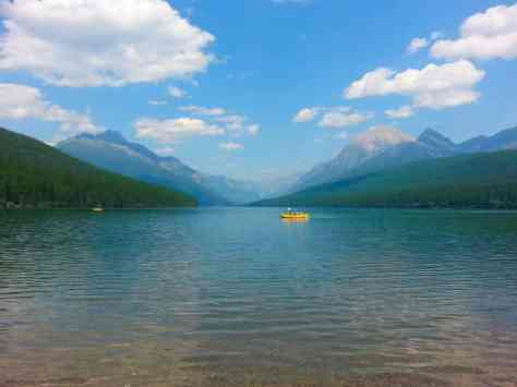 bowman-lake-campground-glacier-national-park-lake