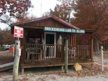 Breckenridge Lake Resort in Crossville Tennessee office