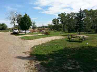 Buffalo KOA in Buffalo Wyoming back ins