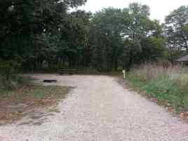 Bunker Hills Campgrounds in Coon Rapids Minnesota Backin