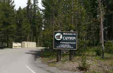 canyon-campground-yellowstone