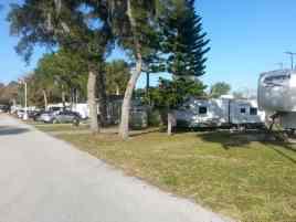 Carefree RV Resorts Daytona Beach in Port Orange Florida RV Sites