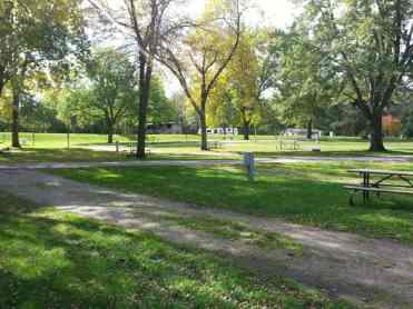 Clear Lake State Park in Clear Lake Iowa Backin Site