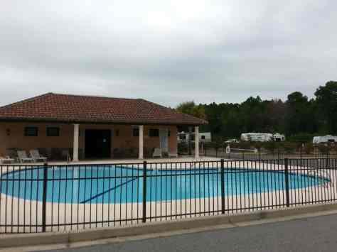 Coastal Georgia RV Resort in Brunswick Georgia Pool