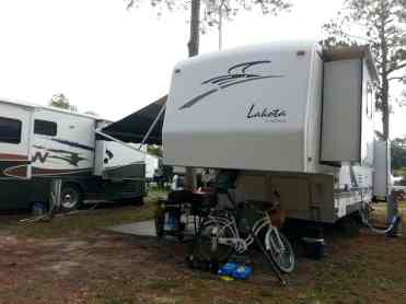Cooksey's RV Park in Saint Augustine Florida RV Site