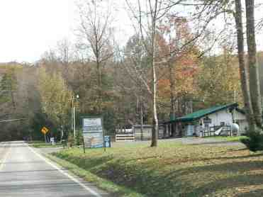 Cosby Ranch and RV Park in Cosby Tennessee View from Road