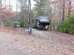 Cumberland Mountain State Park in Crossville Tennessee full hookup backin
