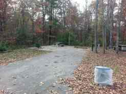 Cumberland Mountain State Park in Crossville Tennessee partial hookup backin