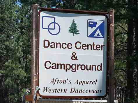 dance-center-and-campground-lolo-mt-sign