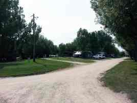 Deer Park RV Park and Campground in Buffalo Wyoming Road and Pull Thru