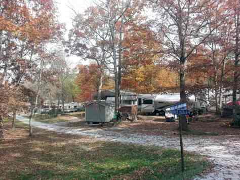 Deer Run RV Resort in Crossville Tennessee Owned Sites