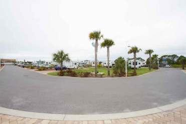 Destin West RV Resort in Fort Walton Beach Florida Sites