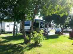 Dicks RV Park Great Falls Montana Long Term Backin Site
