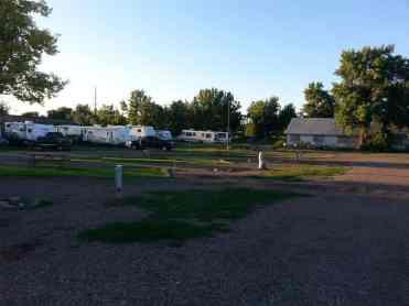 Dicks RV Park Great Falls Montana Short Term Pull Thrus