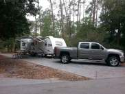 The Campsites at Disney's Fort Wilderness Resort in Lake Buena Vista Florida Backin
