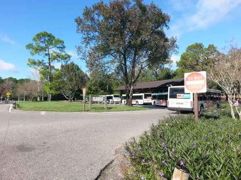 The Campsites at Disney's Fort Wilderness Resort in Lake Buena Vista Florida Shuttle Area